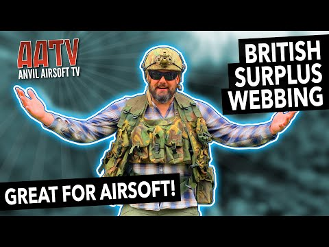Surplus British Webbing | Best Airsoft Gear | ATV EP121