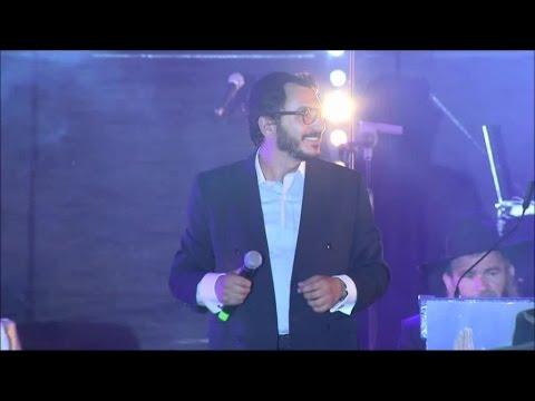 """יובל טייב - בהופעה באירוע הגדול מעמד """"הקהל - מקבלים פני משיח"""" בכיכר רבין"""