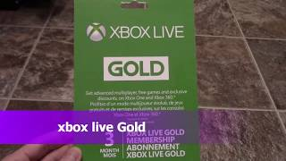 KinTips Xbox Live Gold 3 Month Membership Giveaway