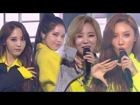 MAMAMOO(마마무) - Wind Flower @인기가요 Inkigayo 20181202