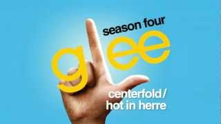 Watch Glee Cast Centerfold  Hot In Herre video