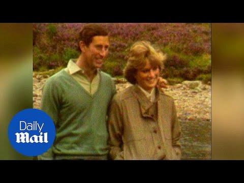 Newlyweds Prince Charles and Princess Diana at Balmoral 1981 - Daily Mail