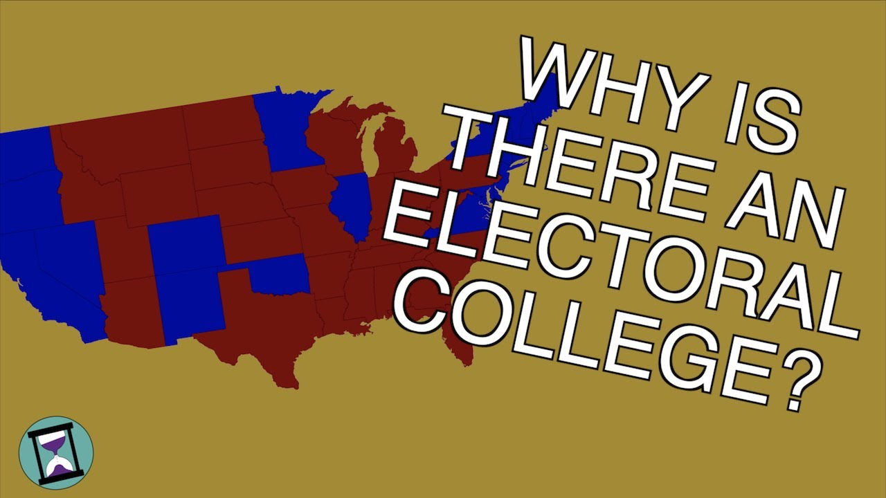 Why does America Have An Electoral College? (Short Animated Documentary)