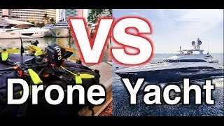 Flying my DRONE over $10 MILLION Yachts!