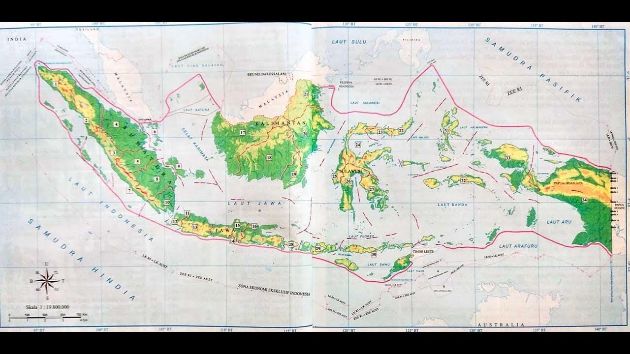 Negara ini memiliki perairan sangat indah dengan luas 3.257.483 km 2. Tabel 34 Provinsi Di Indonesia Dan Ibukota Lengkap Dengan Peta Sejarah Indonesia