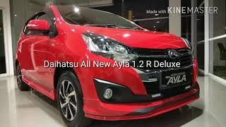 In Depth Tour Daihatsu New Ayla 1.2 R Deluxe Merah | Red 2018 - Indonesia