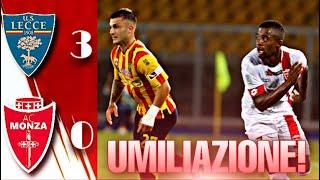 LECCE MONZA 3-0 | CATASTROFE BIANCOROSSA! ADDIO STROPPA?! [Post partita]