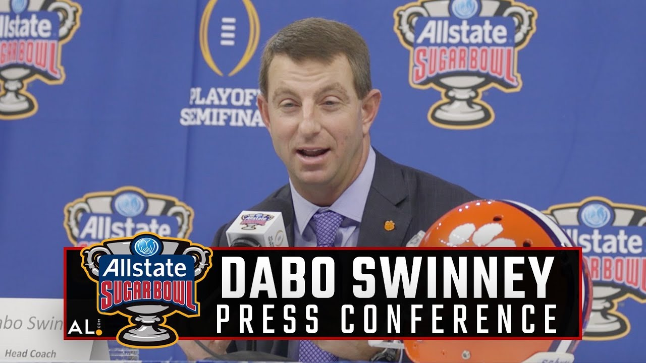 Dabo Swinney on how his family has shaped his career - YouTube