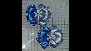 Folded Boutique Ribbon Bow ( using 7/8