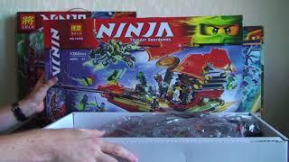 Корабль Дар Судьбы - Решающая битва BELA Ninja 10402 / Лего 70738 - nindzjago.com.ua(, 2017-08-21T09:36:59.000Z)