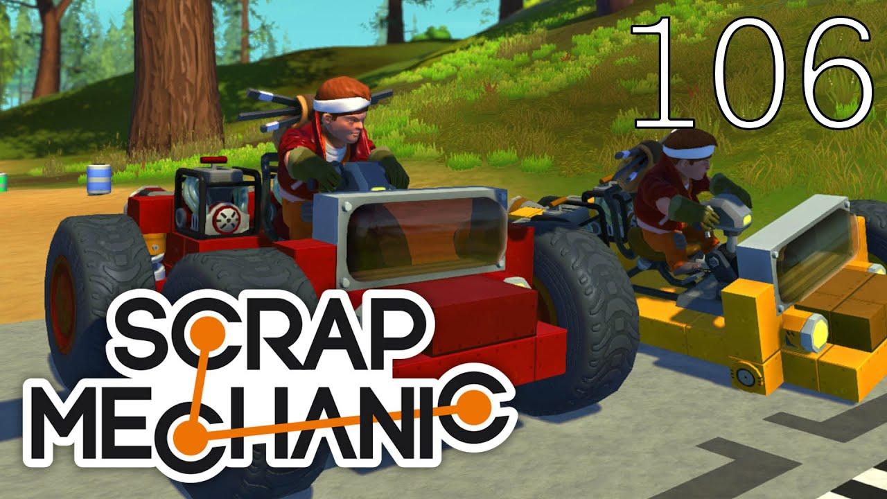Scrap Mechanic [#106] Mapa Wyścig by Rafix (Mapa Widza)