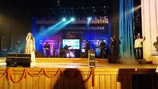 It was a wonderful experience performing for Orissa Engineering college
