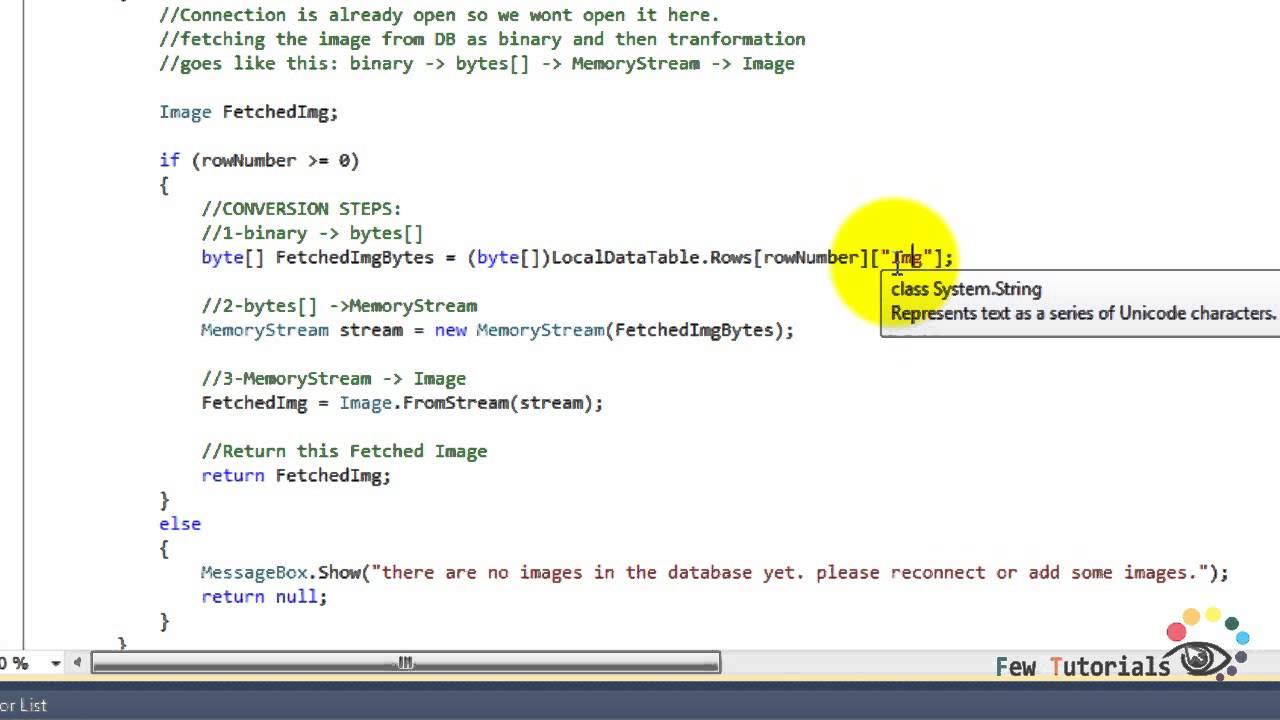 C# tutorial-C# File Stream: Random-Access File