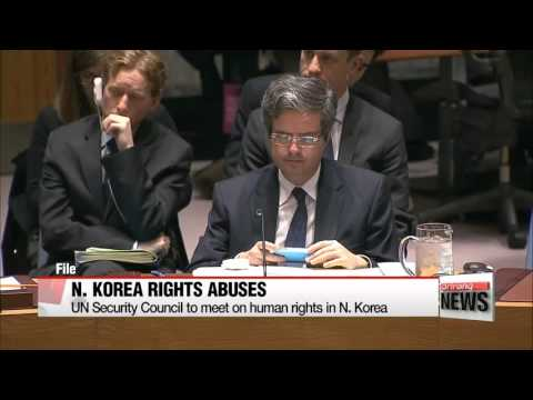 UN Security Council to meet on human rights in N. Korea