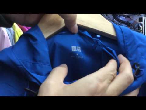 [ijapan.vn] Review Test Nước áo Gió Chống Nắng Chống Mưa Uniqlo Nhật Chính Hãng - 2017