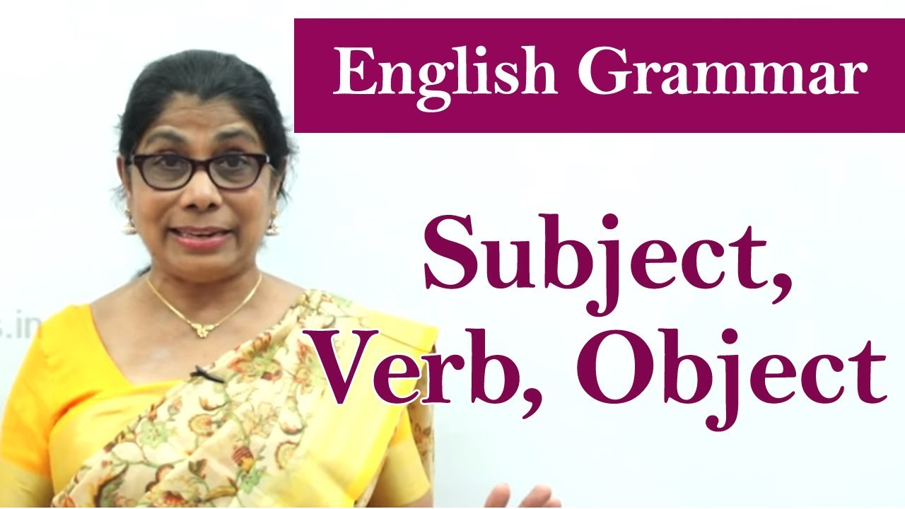medium resolution of Learn English Grammar   Subject