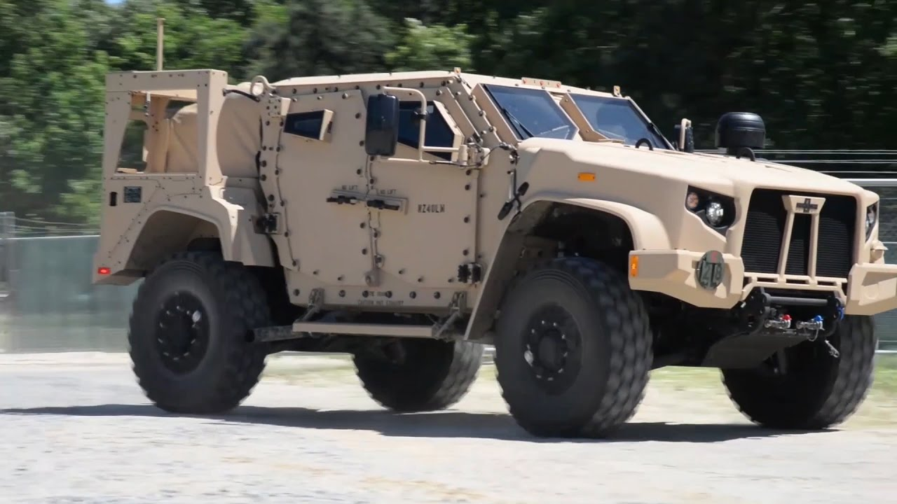 Joint Light Tactical Vehicle - YouTube