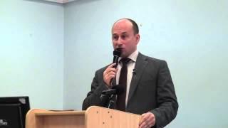 Стариков Николай Выступление в Государственном Экономическом Университете