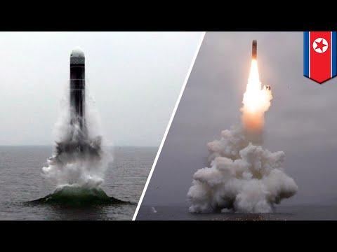 North Korea tests new submarine-launched ballistic missile - TomoNews