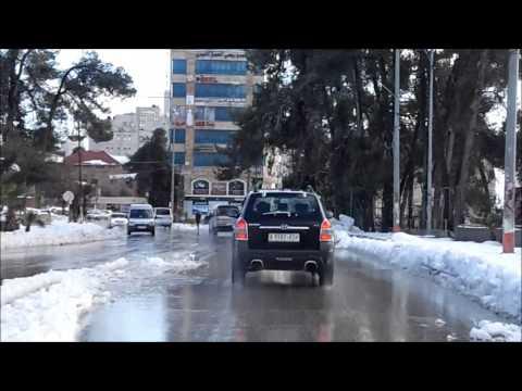 Snow in Palestine, 2015