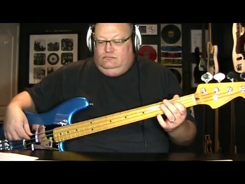 Def Leppard Gods Of War Bass Cover with Notes & Tablature