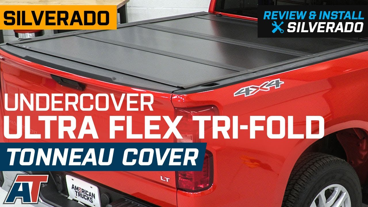 2019 Silverado 1500 Undercover Ultra Flex Tri Fold Tonneau Cover Review Install Youtube
