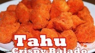 Resep dan Cara Mudah Membuat Tahu Crispy Balado ala Zasanah