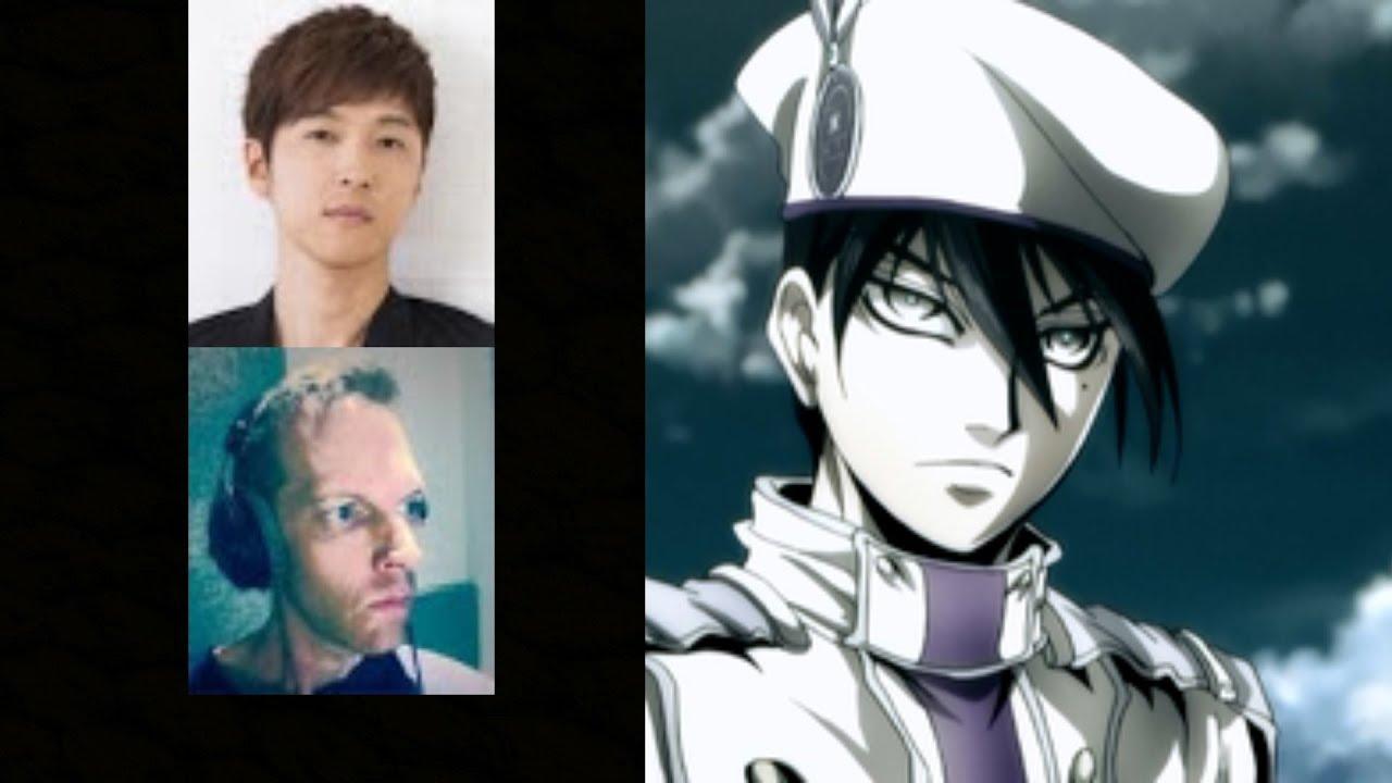 Anime Voice Comparison- Abe no Seimei (Drifters)