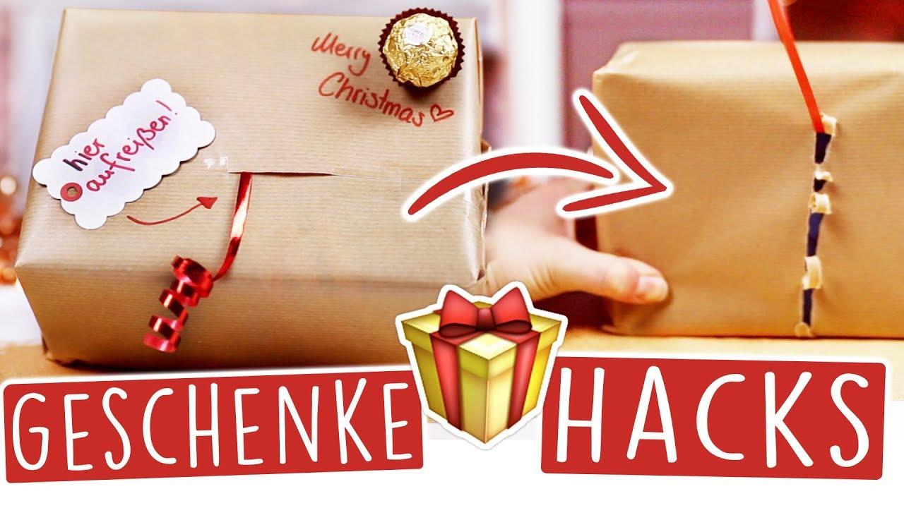 Geschenke Zu Weihnachten.8 Diy Geschenke Hacks Fur Weihnachten Schon Dekorieren Verzieren