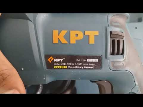 KPT Rotary Hammer Dril Unboxing By Electrical Mind