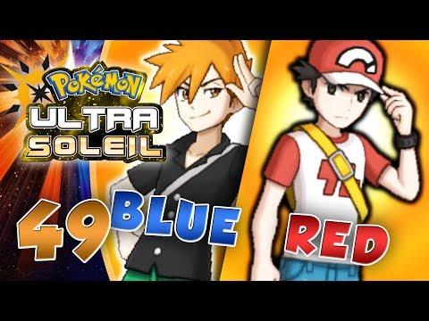 COMBAT VS RED ET BLUE - Pokémon Ultra Soleil et Lune #49