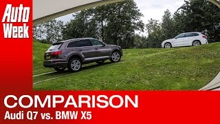 Dubbeltest BMW X5 vs Audi Q7