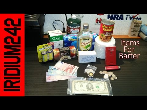 Items For Bartering In Disaster or SHTF