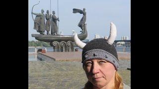 Вязание с Аленой Никифоровой. Шлем викинга - рога
