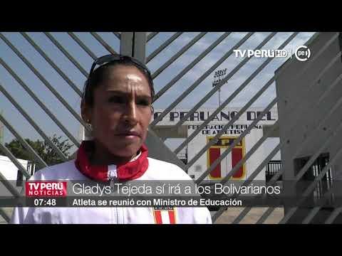 Gladys Tejeda representará al Perú en los Juegos Bolivarianos 2017