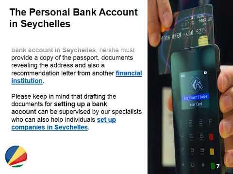 Open a Bank Account in Seychelles