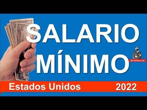 Este es el aumento del Salario Mínimo en Estados Unidos para 2022