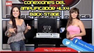 Amplificador 4LX4 - Conexiones recomendadas