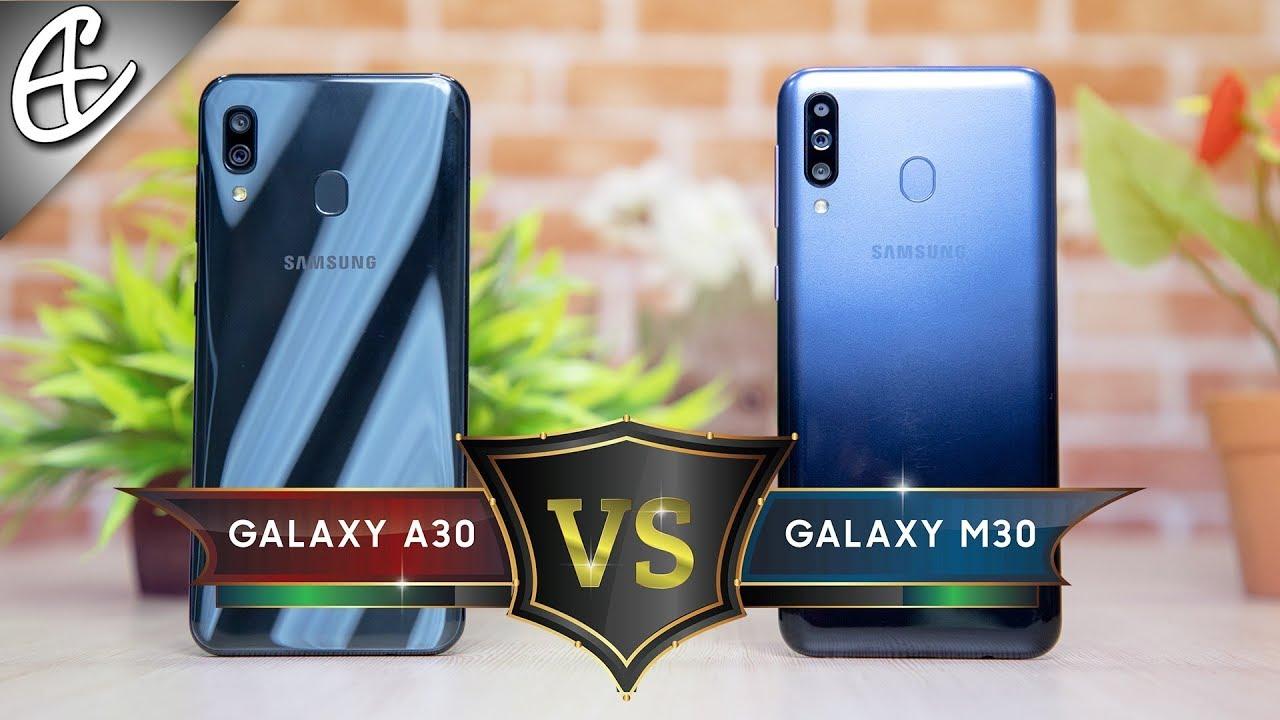 Samsung Galaxy A30 vs M30 Speedtest Comparison - Is One UI Faster?