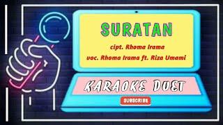 Gambar cover SURATAN RIZA UMAMI KARAOKE ORIGINAL DANGDUT LAWAS  (full hd + lirik) LAGU DANGDUT TERBAIK