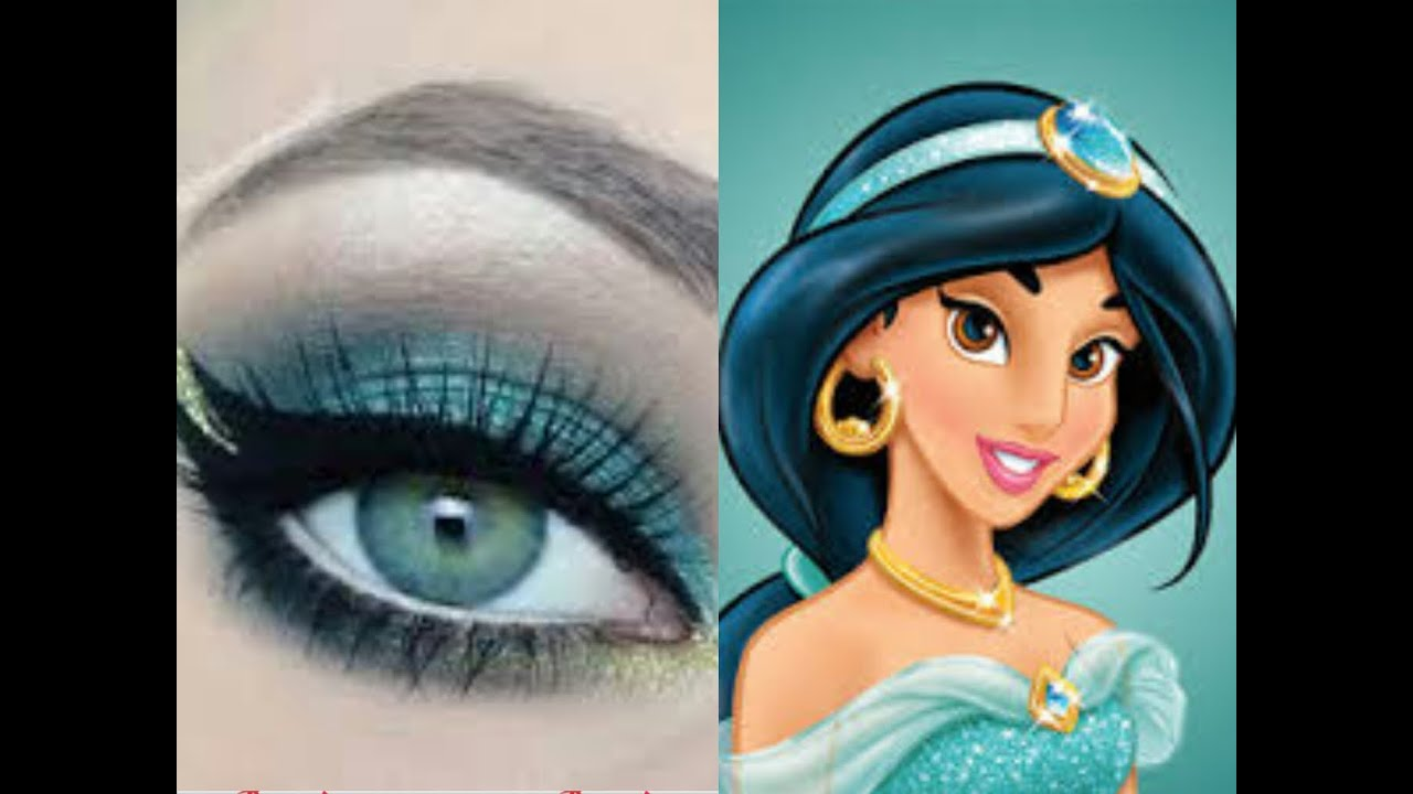 Princess Jasmine Makeup | Jasmine makeup, Princess jasmine
