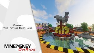 MineDisney OnRide - Dumbo the Flying Elephant