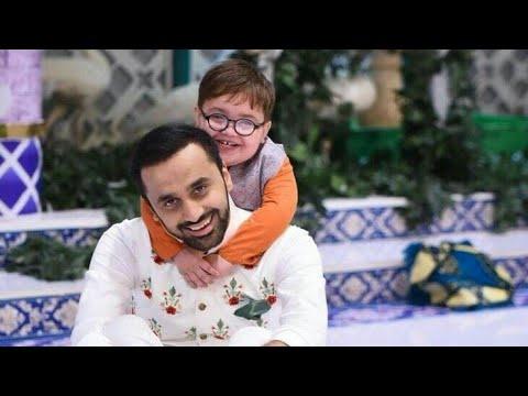 Cute Ahmed shah love for waseem badami