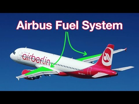 How does the AIRBUS FUEL SYSTEM work? Explained by CAPTAIN JOE