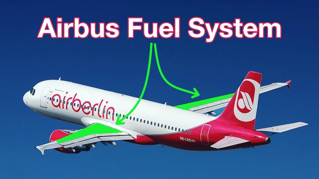 airbus fuel system work explained  captain