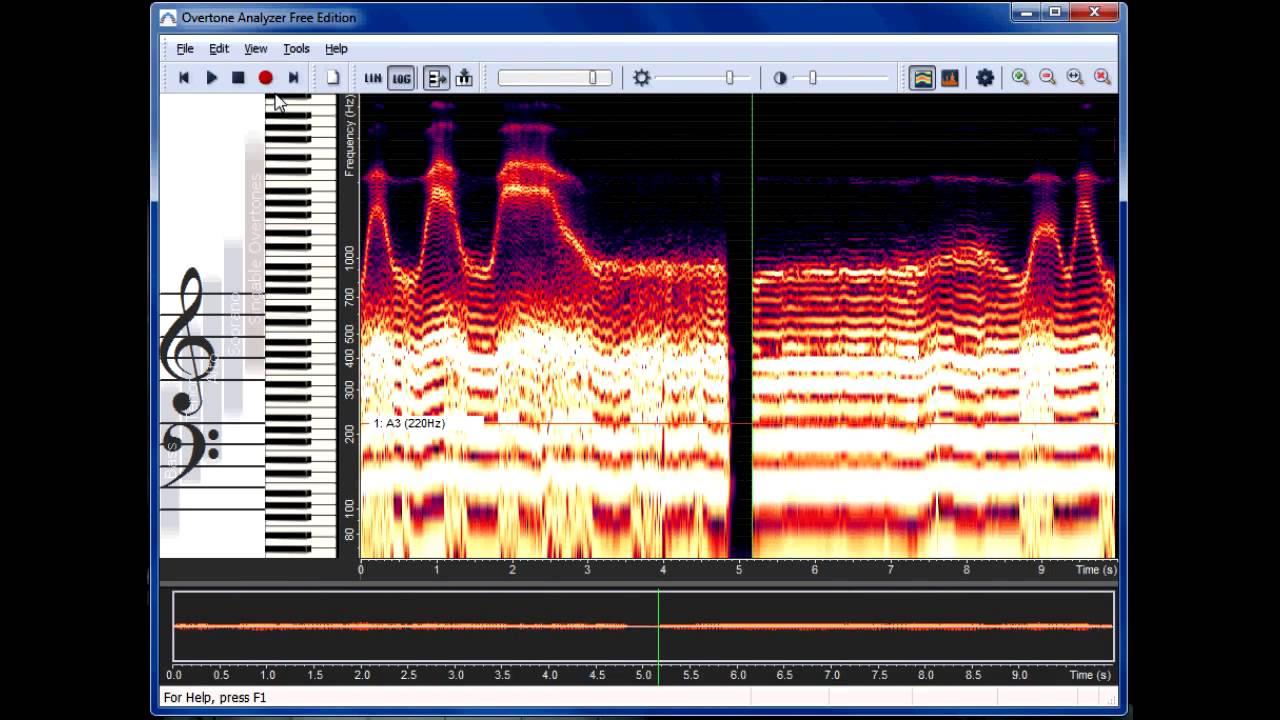 overtone analyzer free download