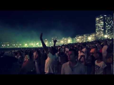 Rio de Janeiro . Copacabana.  New Year 2013 .