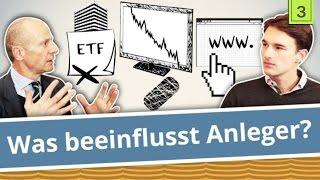 Gerd Kommer: Warum Banken keine ETFs empfehlen, Rolle der Medien, die besten Anlegerwebsites | 3/8