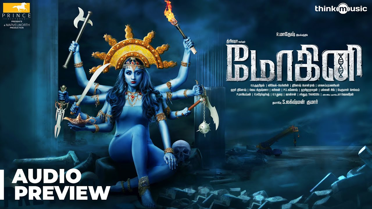 Mohini - Album Preview | Trisha | R. Madhesh | Vivek-Mervin | Prince Pictures