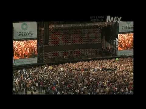Crowded House Live - Better Be Home Soon - Live Earth 2007 (10/11)
